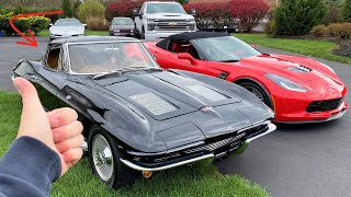 "Everything WRONG With My New ""Numbers Matching"" 1963 Corvette... Ft. My Blazer is BACK!"