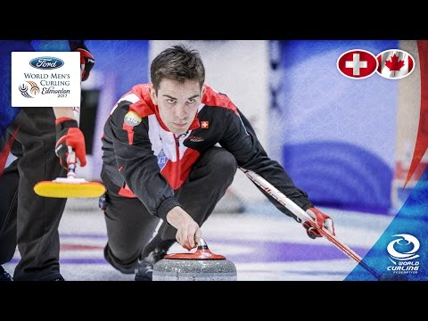 Switzerland v Canada - Round-robin - Ford World Men's Curling Championship 2017