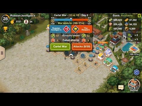 Narcos: Cartel Wars - Gameplay 171 Russian hooligan's vs The Reapers