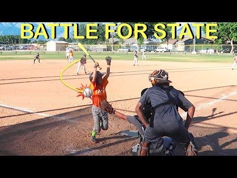 LITTLE LEAGUE BASEBALL Battle For State Tournament!⚾️