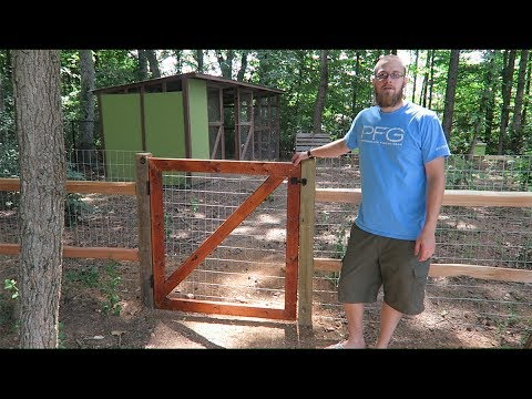 Split rail fence for my chickens