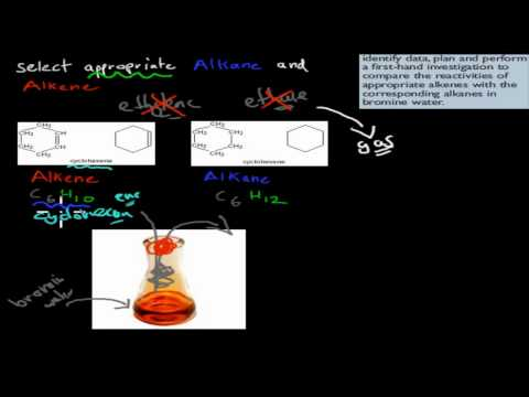 4. Bromine Water Experiment (HSC Chemistry)