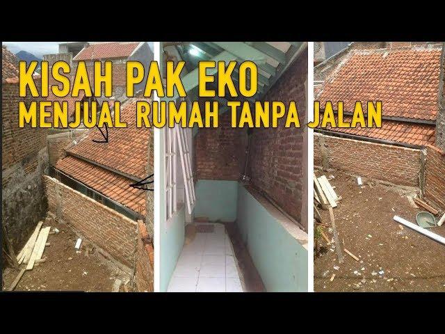 Rumah Pak Eko Tak Punya Akses karena Dikepung Tembok Tetangga,