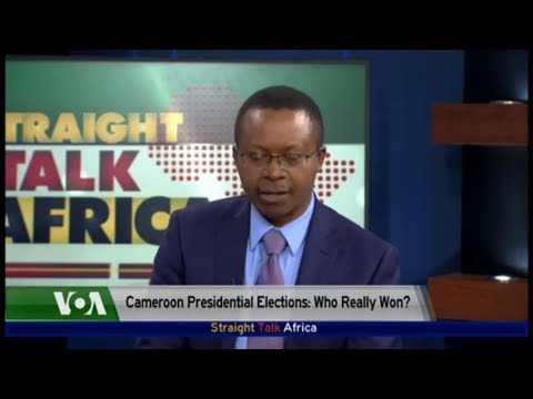 VOA: RECENT PRESIDENTIAL ELECTIONS IN CAMEROON