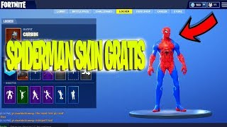 HOW TO UNLOCK SPIDERMAN SKIN FREE in Fortnite *NEW FREE SKIN* Fortnite Battle Royale