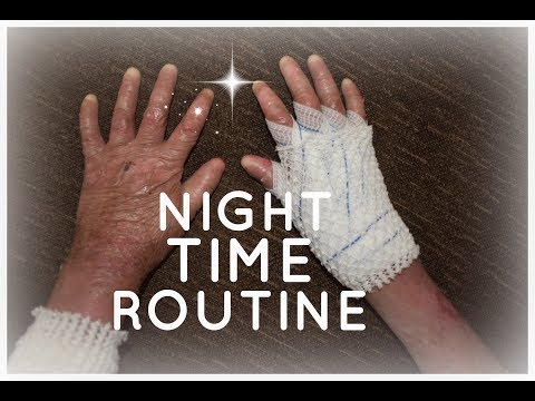 NIGHT TIME ROUTINE | EB EDITION