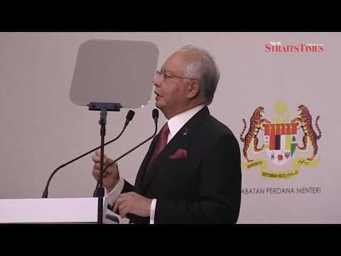 Najib Razak's speech at launch of Nat'l Transformation Programme 2016 Report
