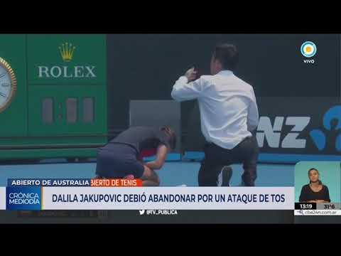 Tenista Colapsó En Medio De Un Ataque De Tos Y Peligra El Abierto De Australia