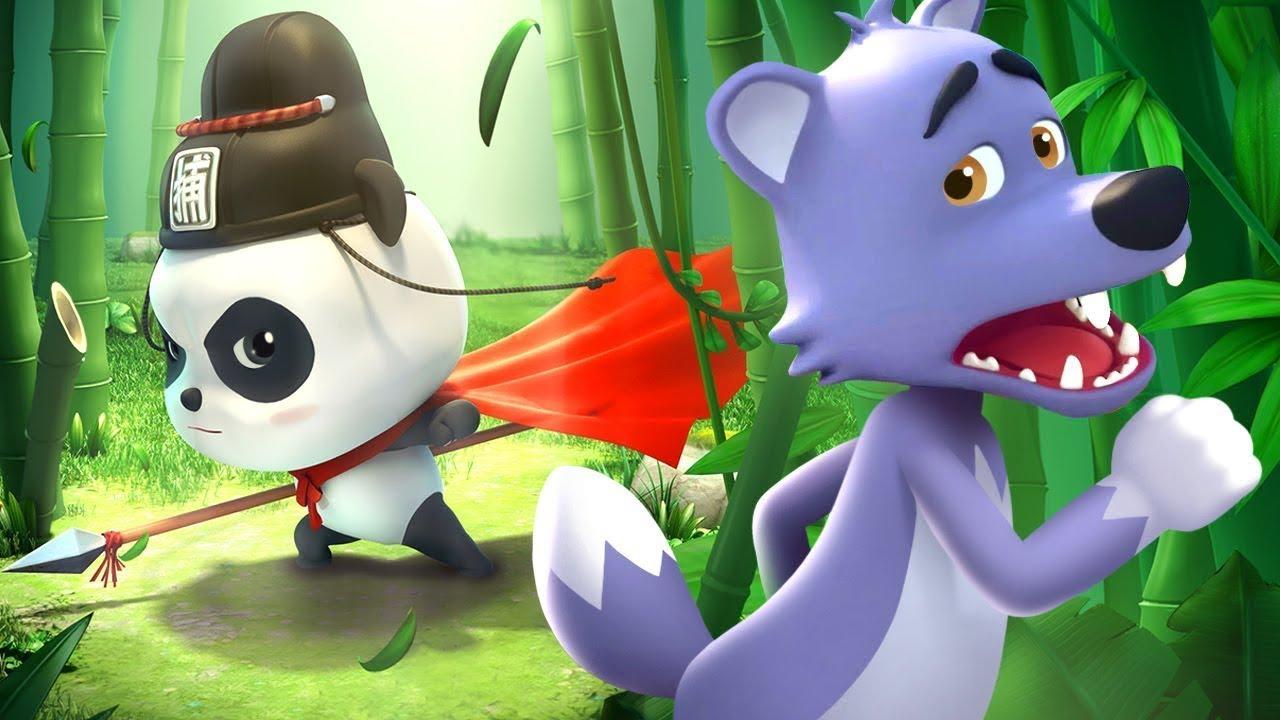 วีรบุรุษแห่งป่าไผ่ | การ์ตูนเด็ก | เบบี้บัส | Kids Cartoon | BabyBus