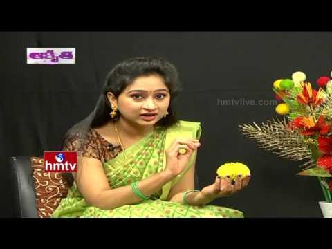 How To Make Artificial Marigold Flower | Akruthi Avani | HMTV