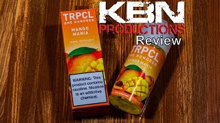 TRPCL one hundred | Mango Mania | Eliquid | Review | KBN Productions