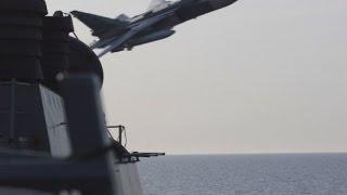 مقاتلة روسية تستفز طائرة استطلاع أميركية بعد حادثة المدمرة