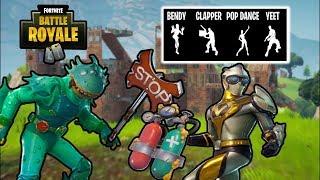 NOWE SKINY, EMOTKI I INNE - PRZECIEKI! | Fortnite Battle Royale!