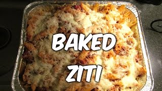 """making Baked Ziti Today......."
