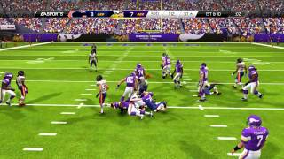 Madden 25 Gameplay - Minnesota Vikings vs. Chicago Bears!