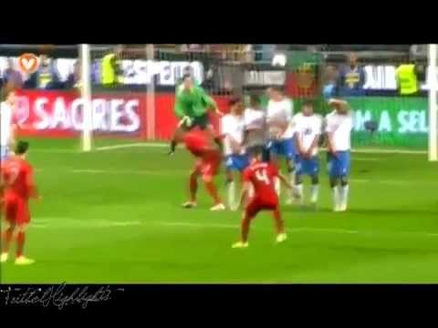 Portugal vs Bosnia Herzegovina 6-2 (Euro 2012 Playoffs) Full Highlights 15/11/11