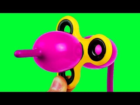 10 Awesome Tricks with Fidget Spinner