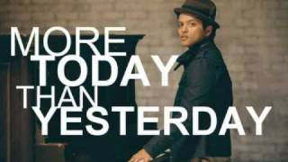 Bruno Mars - More Today Than Yesterday (Lyrics) [2011!]
