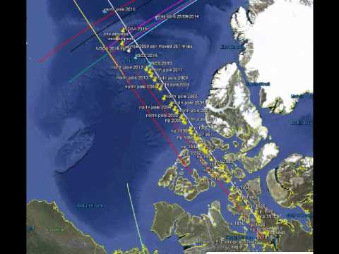 pole shift news, Earth's magnetic poles are  switching