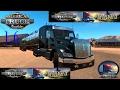 ATS | provando bloqueo diferencial | peterbilt 579 | american truck simulator open beta 1.6