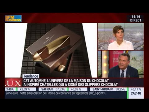 La Maison du Chocolat x Chatelles : présentation de la collaboration sur BFM Business