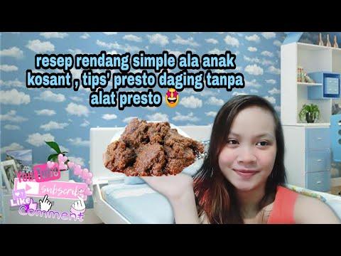 Rendang Telur   Randang Talua   Rendang Telor Basah Padang   Rendang Telur Padang #MasakDiRumahAja from YouTube · Duration:  7 minutes 44 seconds