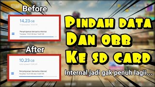 Cara Pindah Data Obb Game & Aplikasi Ke External Sd Card | Cara Atasi Internal Android Penuh | Root