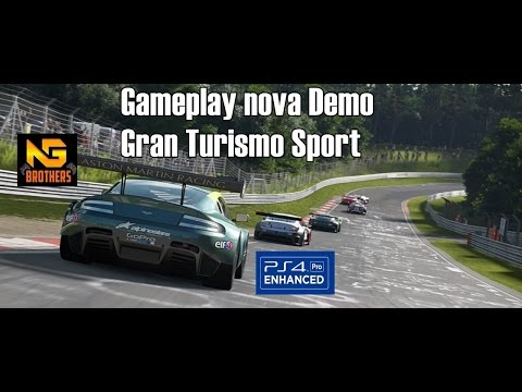 gameplay gran turismo sport ps4 pro playstation experience 2016 youtube. Black Bedroom Furniture Sets. Home Design Ideas