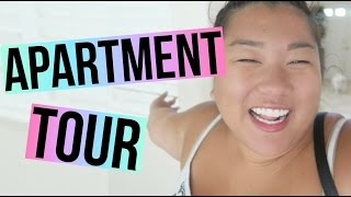 APARTMENT TOUR + MOVING DAY!!