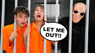 Trapped in PRISON for 24 Hours!