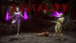 """Mortal Kombat 11 """"Getting in their Head"""" Sindel Brutality"""