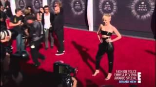 Miley Cyrus on Fashion Police | VMAs 2014 |