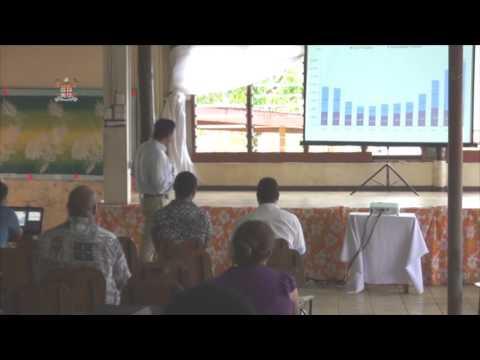 Fijian Attorney General Aiyaz Sayed-Khaiyum, public budget consultations at Tailevu North