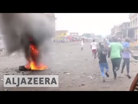 Anti-government protests in DRC turn deadly