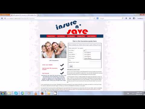 Life insurance quote - South Africa