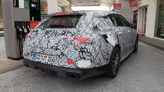 2019 MercedesAMG CLA35 Shooting Brake 4Matic  Exhaust SOUNDS On The Nurburgring