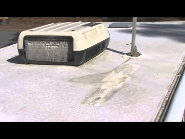 inexpensive ways to care for seal and repair your rv roof - Rv Rubber Roof Repair