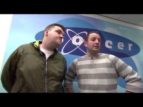 Impressionists Darren Farley and Paul Reid on Soccer AM