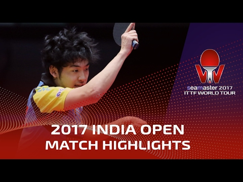 2017 India Open Highlights: Yuto Muramatsu vs Achanta Sharath Kamal (R16)
