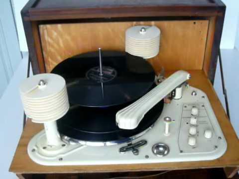 Perpetuum Ebner PW10 Vintage Record Player - YouTube