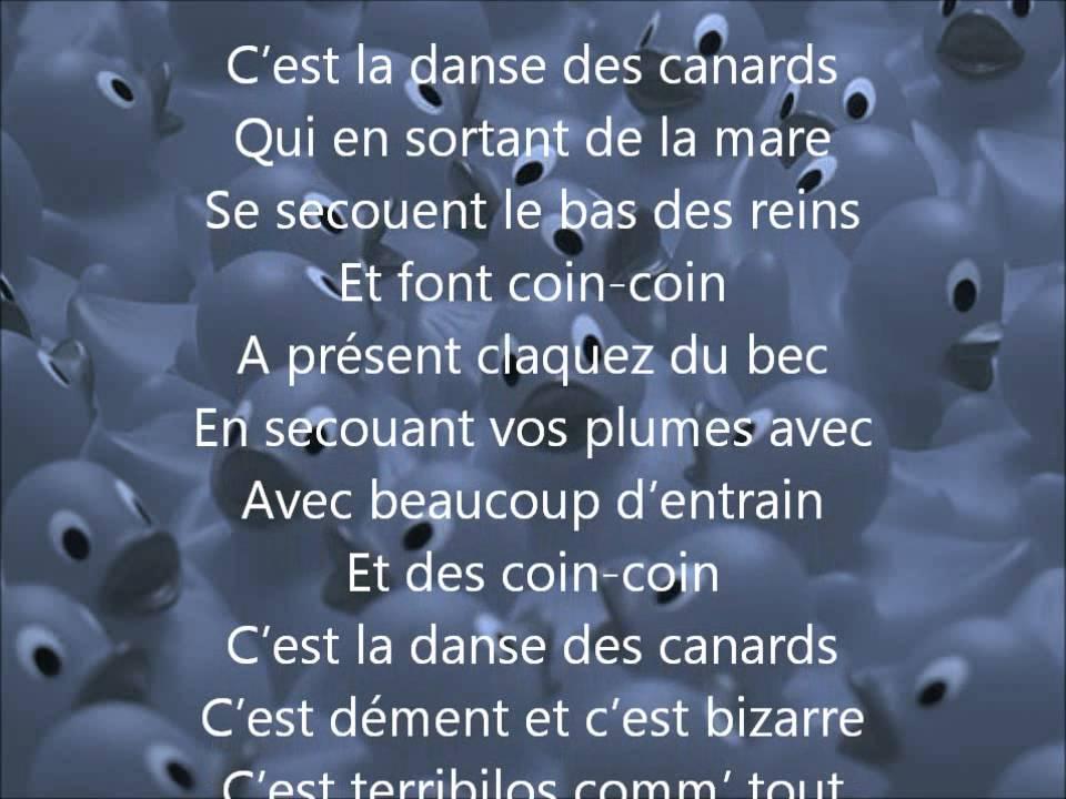 C'est la danse des canards!!!