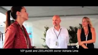 VIP Guest Adriana Lima at Zeelander Yachts   FLIBS 2013