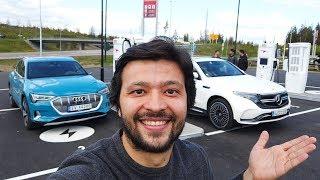 Mercedes EQC Test Sürüşü - Audi E Tron ile karşılaştırdım!