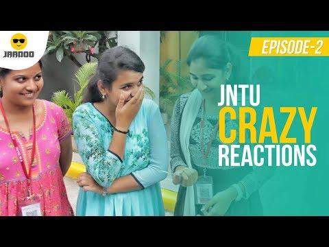 JNTU Students Crazy Reactions To Street Magic - Jaadoo Episode 2 | Chai Bisket