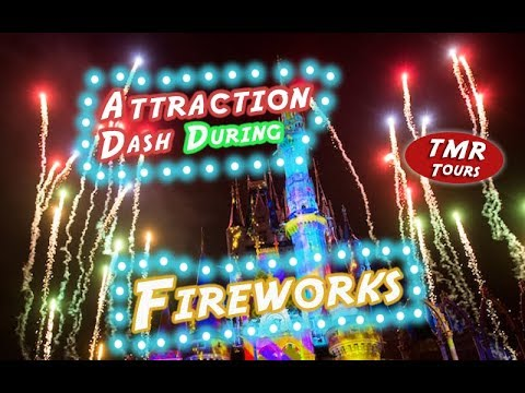 How Many Attractions Can We Ride During Fireworks   Magic Kingdom