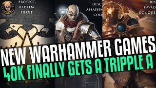 New Warhammer Games Incoming! 40k Finally Gets Triple-a!