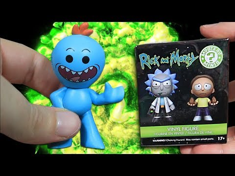 Thumbnail: Opening 10 Rick and Morty Mystery Mini Figures!