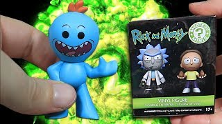 Opening 10 Rick and Morty Mystery Mini Figures
