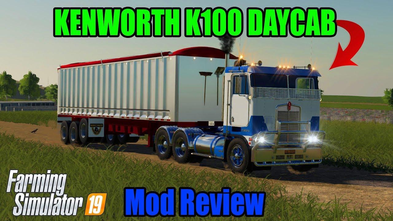 FS19   Kenworth K100 DayCab Semi Truck   Mod Review - YouTubeKenworth Dump Trucks Fs19