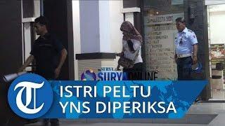 Istri Anggota TNI AU Tutupi Wajah saat Diperiksa di Polresta Sidoarjo soal Dugaan Fitnah ke Wiranto